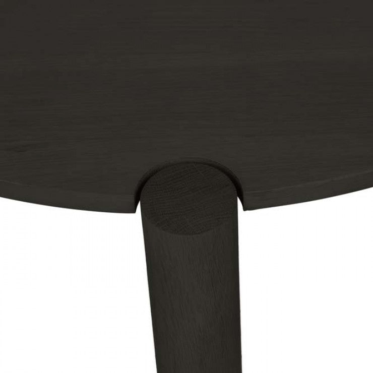 GlobeWest | Linea Oslo Round Coffee Tables- Midnight