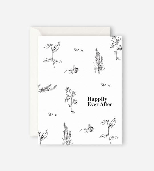 Happily Ever After Card - Father Rabbit