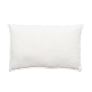 Luca Pre Washed Linen Cushion 40x60 White