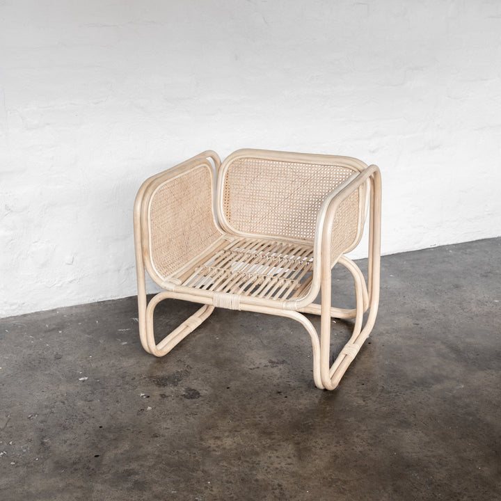 Wilbur Cane Chair - Blonde