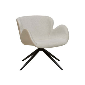GlobeWest | Astrid Arm Chair - Soft Beige/Seashell