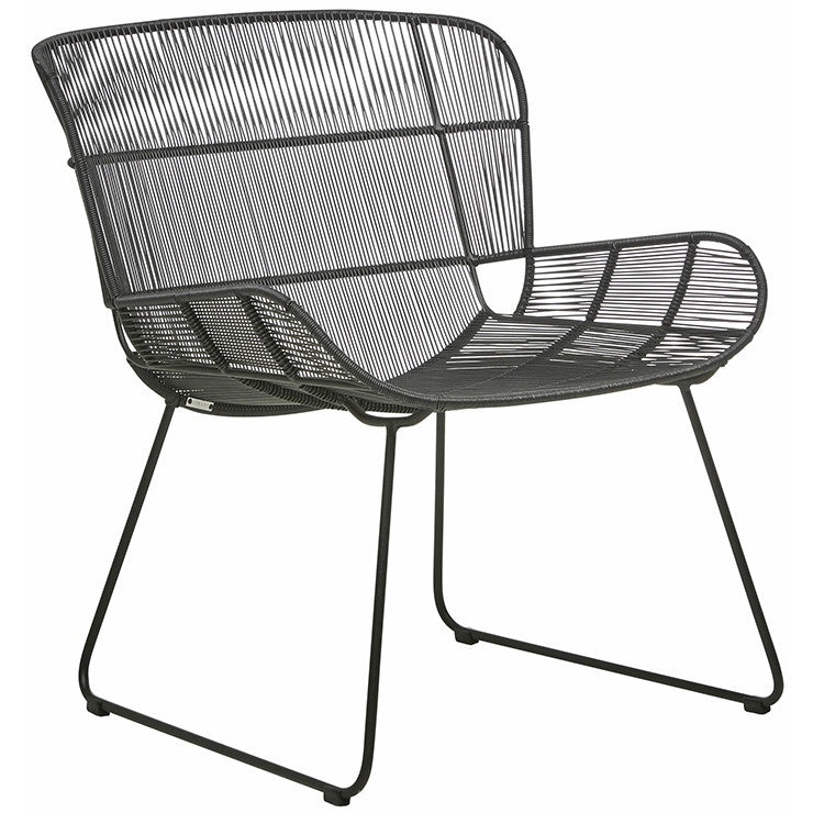 Granada Butterfly Occasional Chair (Outdoor) - Licorice