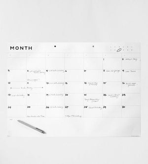 Father Rabbit | Monthly Planner A2
