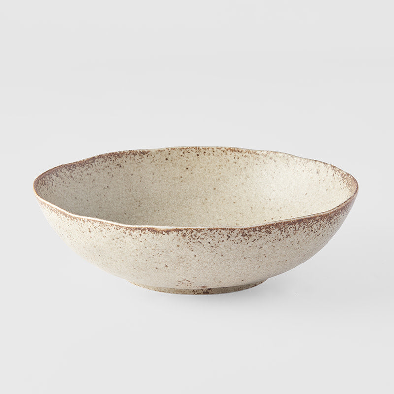 Sand Fade Oval Bowl Large