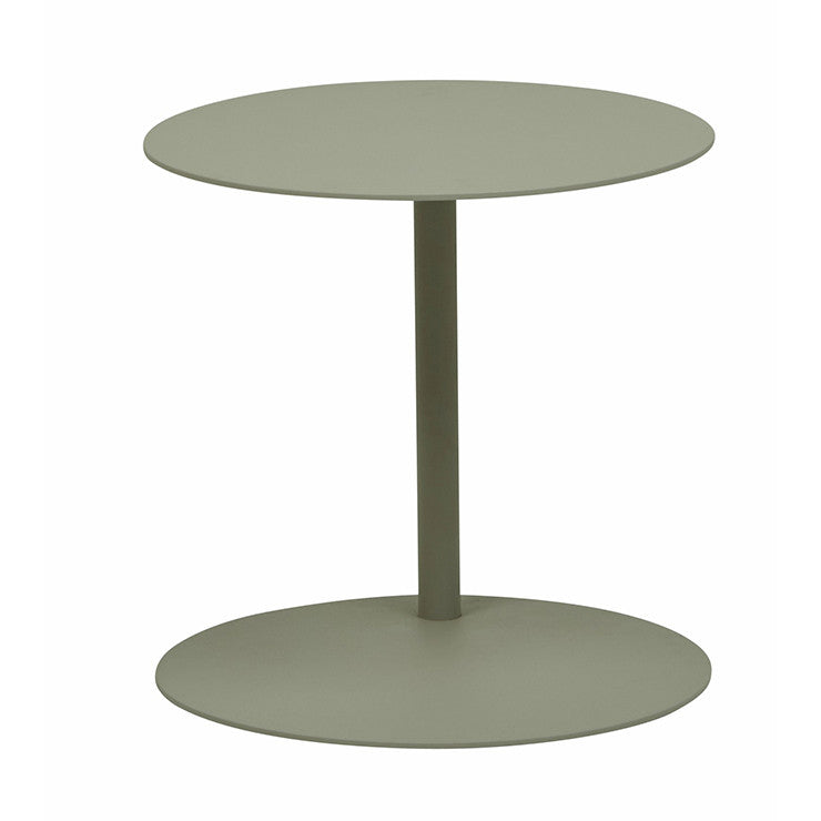 Aperto Ali Round Outdoor Side Table - Grey