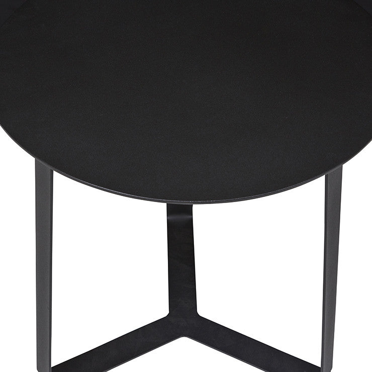 GlobeWest | Cancun Ali (Outdoor) Side Table - Black