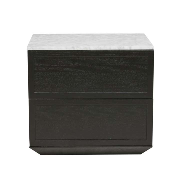 GlobeWest | Maxwell Bedside - Black/White