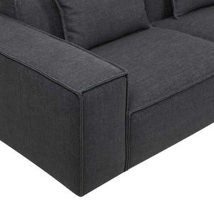 GlobeWest | Felix Block 3 Seater Sofa