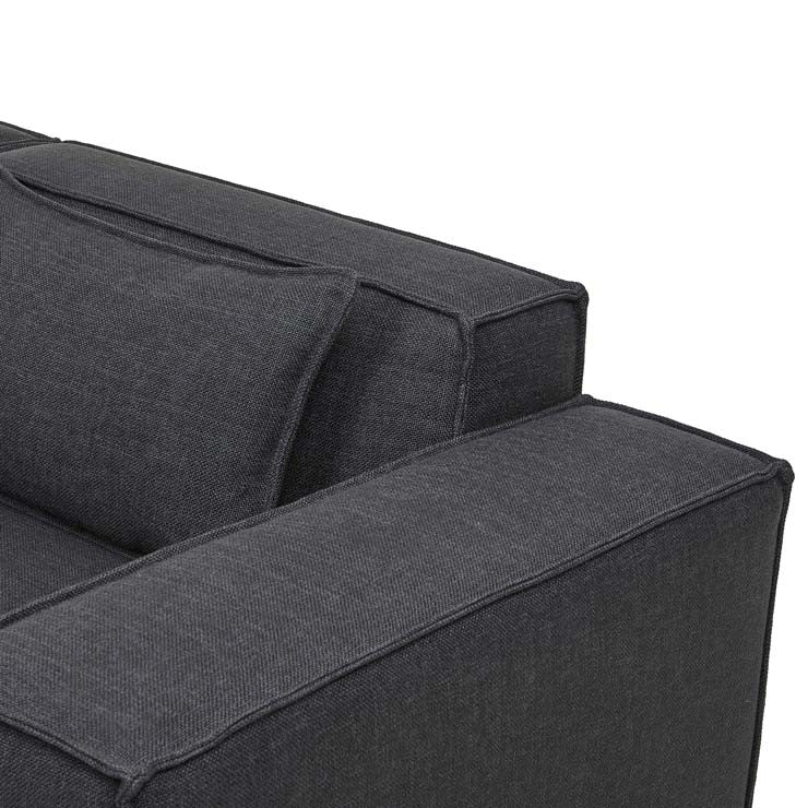 GlobeWest | Felix Block 3 seater Right Arm