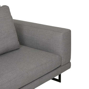 GlobeWest | Hugo Grand 3 Seater Sofa- Fossil Weave