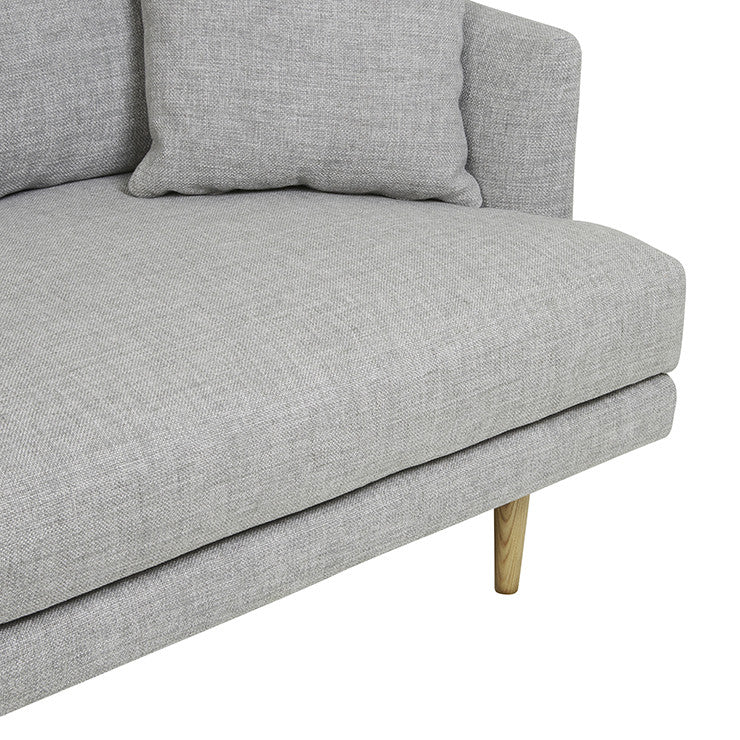GlobeWest | Vittoria Mia 4 Seater Sofa - Cement