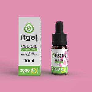 Load image into Gallery viewer, Organic Premium CBD Oil - 2000mg | 20% CBD