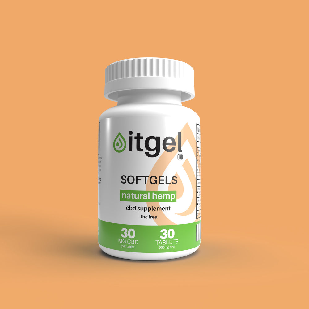 Load image into Gallery viewer, CBD Soft Gels - 900mg