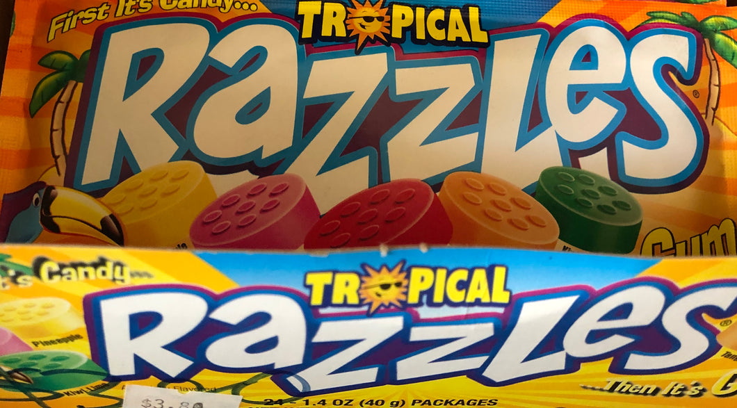 Razzles - Tropical