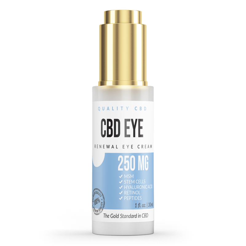 Quality CBD Renewal Eye Cream - Quality CBD