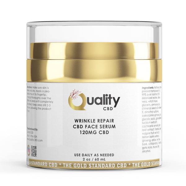 The Gold Standard Anti-Aging Face Cream - Quality CBD