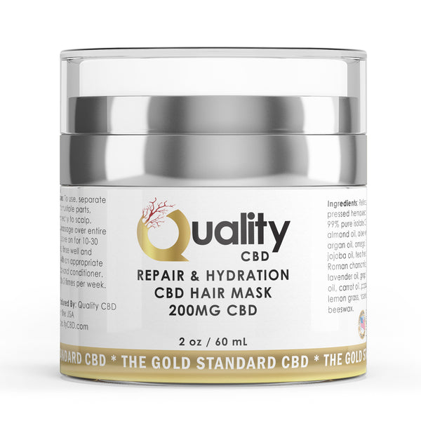 The Gold Standard Hair Mask - Quality CBD