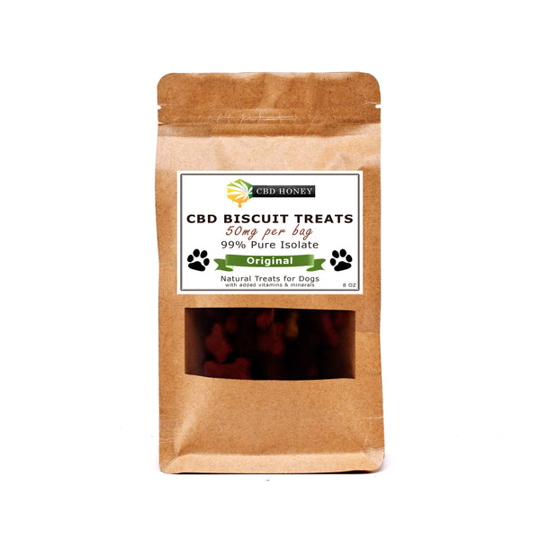 The CBD Honey CBD Infused Biscuit Treats for Dogs - Quality CBD