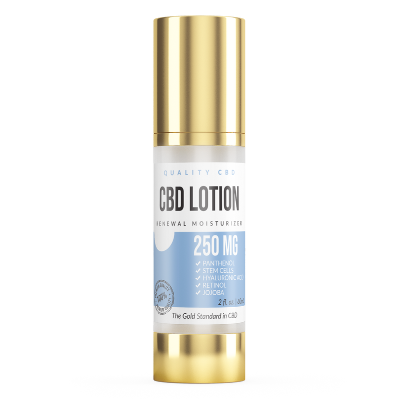Quality CBD Renewal Moisturizing Lotion - Quality CBD