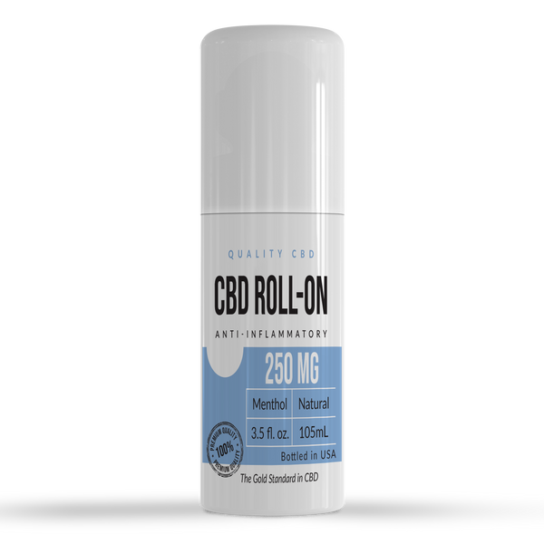 Quality CBD Muscle & Joint Relief Roll-On With Menthol - Quality CBD