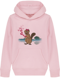 Sweat-shirt Castor amoureuse