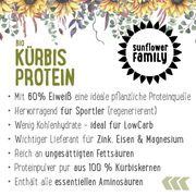 sunflowerFamily pumpkin protein, organic