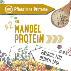 sunflowerFamily Mandelprotein, bio