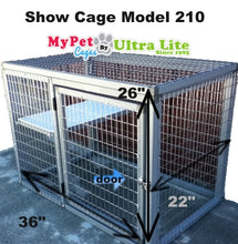 Load image into Gallery viewer, SHOW CAGE MODEL 210