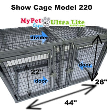 Load image into Gallery viewer, SHOW CAGE MODEL 220