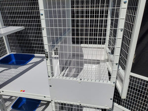 Upgrade Floor Panel with Recessed Litter Pan & Kittening Suite for Kitty Condo 520-K