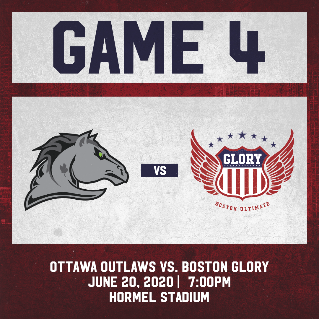 Game 4: June 20th vs. Ottawa Outlaws