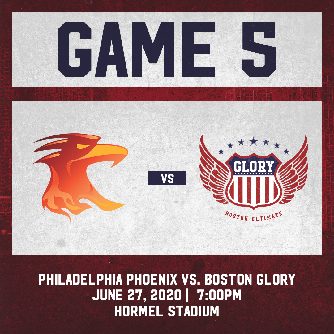 Game 5: June 27th vs. Philadelphia Phoenix