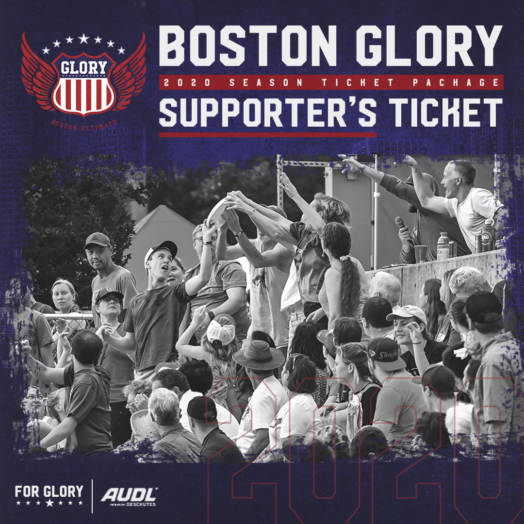 2020 Glory Supporter's Ticket