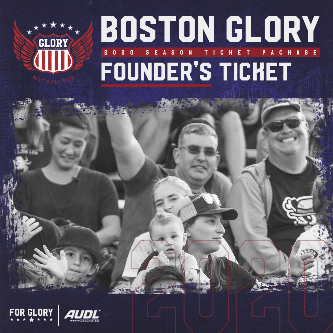 2020 Glory Founder's Ticket