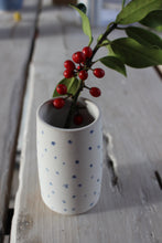 Load image into Gallery viewer, Small dotty stem vase