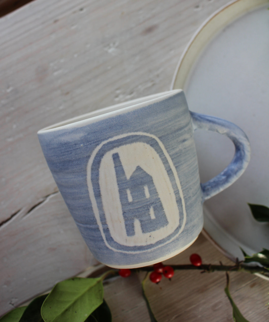 Tin mine mug // made to order 2-3 weeks