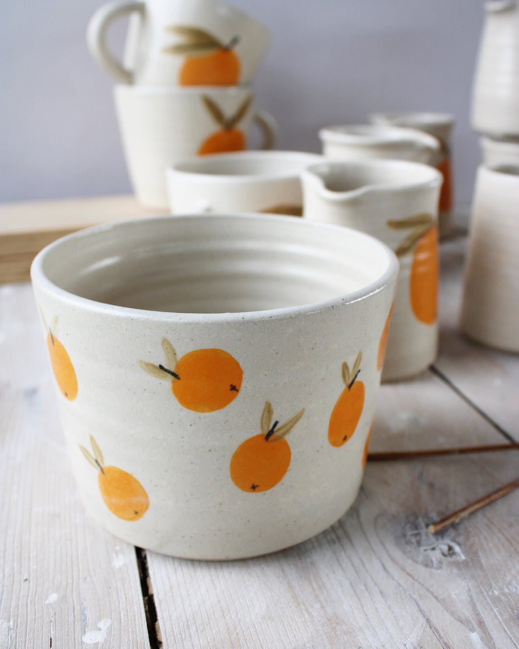 Mini Clementine (all over) Planter