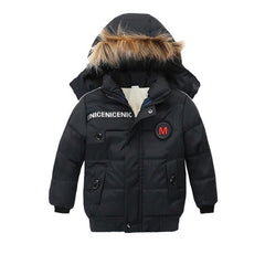 Children Kids Boys Girl Winter Coats Jacket Faux