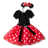 Toddler Baby Girls Clothes Minnie Mouse Dress