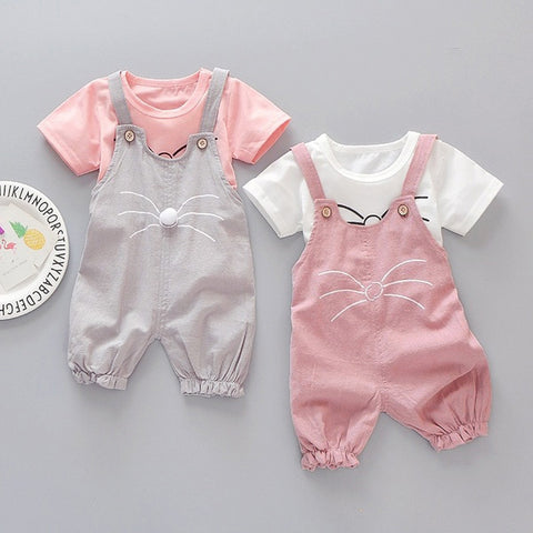Hot Sale Brand Cute Girl Clothing Children Summer