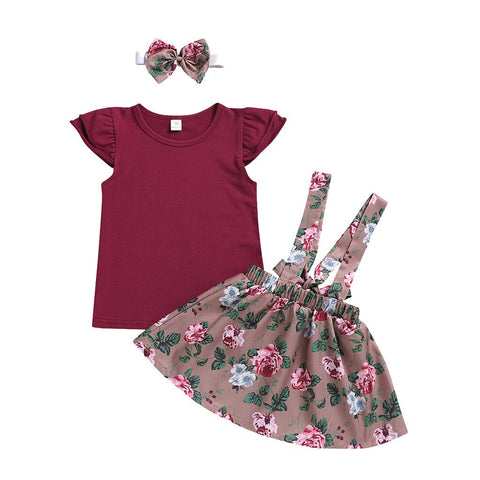 Kids Girls Clothing Sets Summer New Style Brand