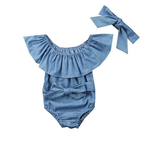 Infant Baby Girls Romper Jumpsuit Beach