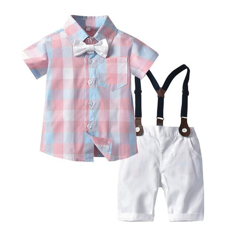 Small Fresh Infant Baby Boys Gentleman formal