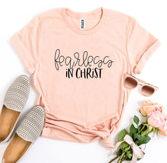 Fearless In Christ T-shirt