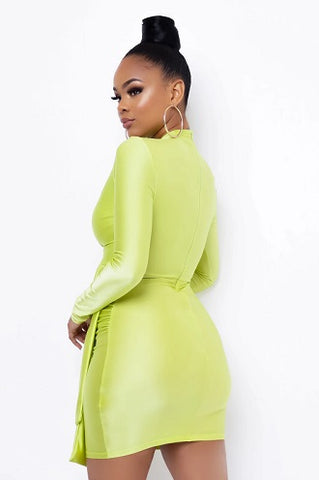 Rosalia Lime Dress