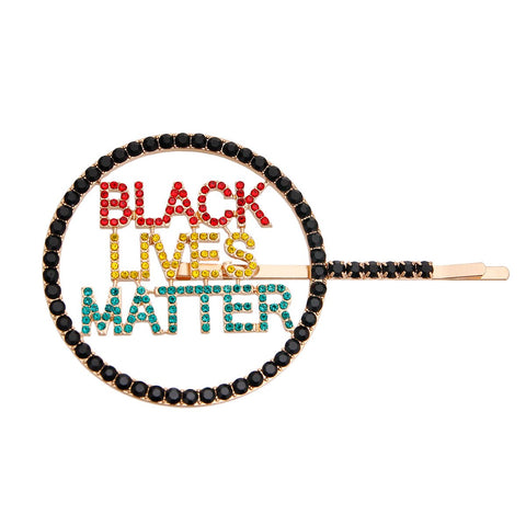 BLACK LIVES MATTER Multi Hair Pin