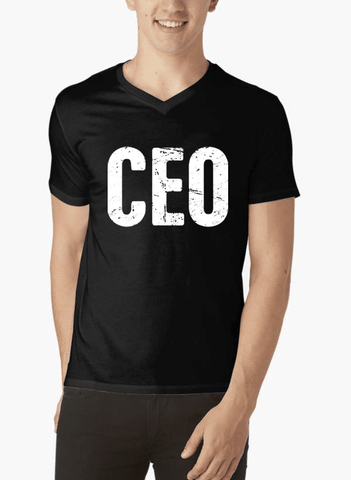 CEO V-Neck T-shirt