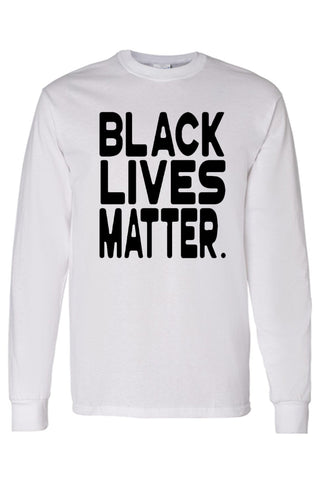 Men's Long Sleeve Shirt Black Lives Matter