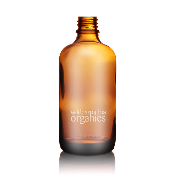 Wild Carpathia Organics - Amber Glass Bottle, 100ml