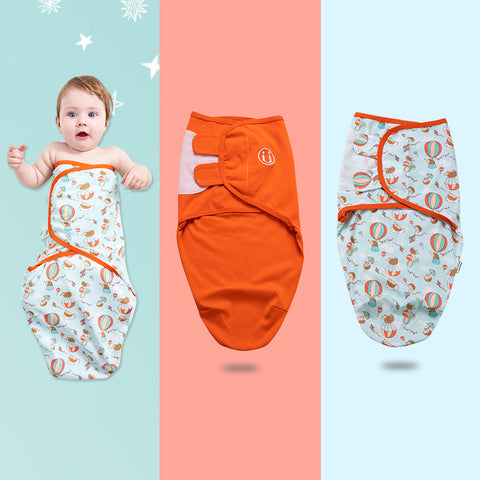 Baby Swaddle Blanket Wrap for Newborn Boy and Girl Sleeping Bag